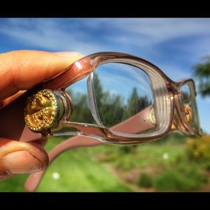 GUCCI AUTHENTIC GLASSES WITH GG CRYSTALS GORGEOUS